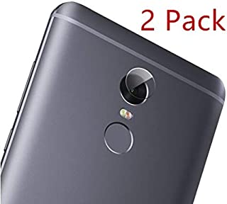 Joarty for Xiaomi Redmi Note 4X Tempered Glass Protector Rear Back Camera Lens Scratchless Strong Tempered Glass 2 Pack