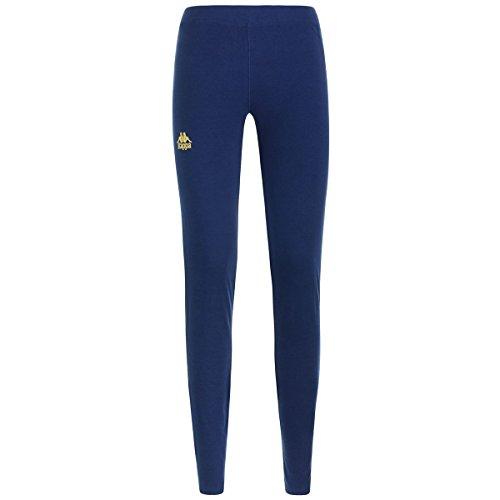 Kappa Damen ZIMUT Authentic Leggings, blau, S