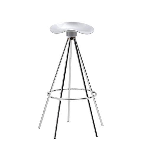 SQQSLZY Taburetes de Barras, sillas de Bar, Elegantes y Simples sillas de Barra de Metal, sillas de Bar de recepción Personalizadas, heces Altas