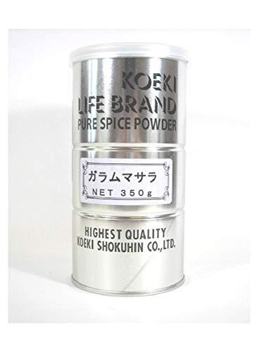 交易食品 ガラムマサラ 丸缶 (業務用) 350g ×2缶