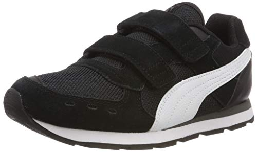 PUMA Vista V PS, Zapatillas Unisex Niños, Negro Black White, 32 EU