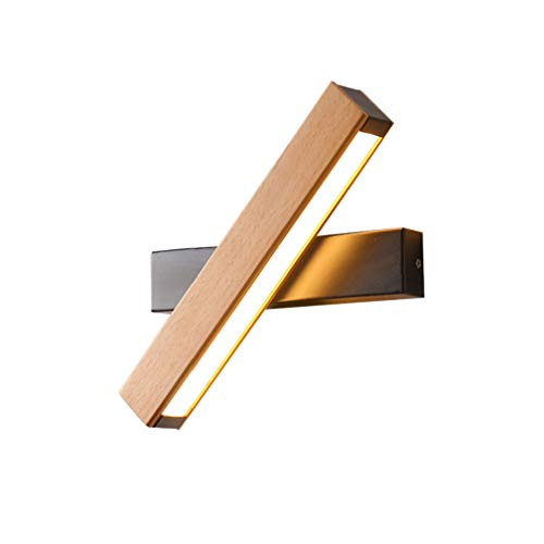 Lampe De Mur Rotative Acrylique Créative Minimaliste Moderne De Lumière De Mur De 6W LED Pour Le Salon, Chambre À Coucher, Hall, Escalier, Allée, Lumières Décoratives,Black