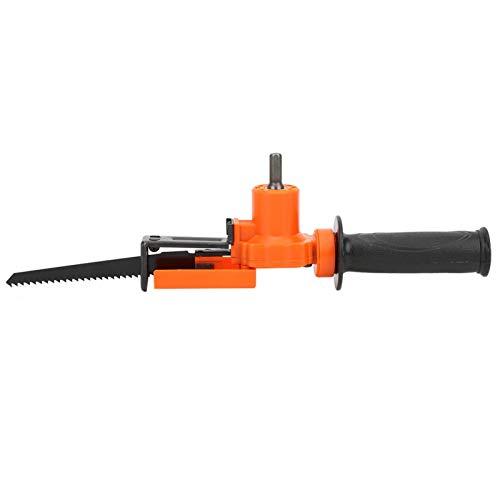 Adaptador de sierra para trabajos de madera, adaptador de taladro eléctrico, económico...