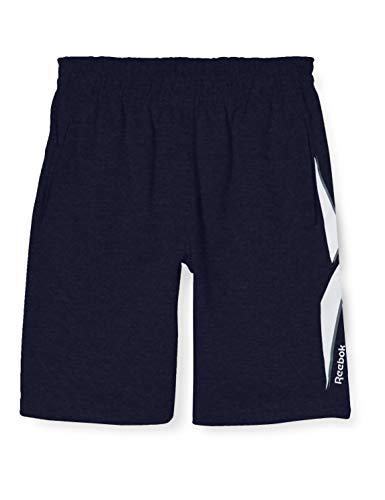 Reebok Jungen Pantalon Corto Big The Vector Kurze Hose, Marineblau, L