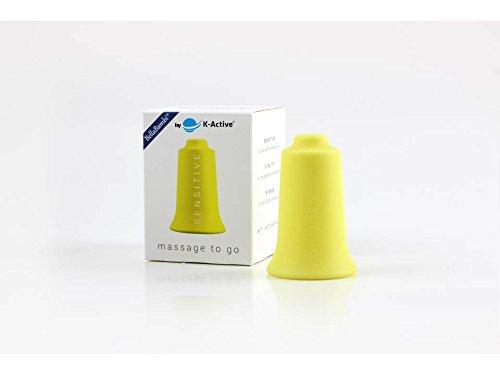 BellaBambi® Schröpfcup by K-Active SENSITIVE mini für die Unterdruckmassage | gelb | Ø 2 cm