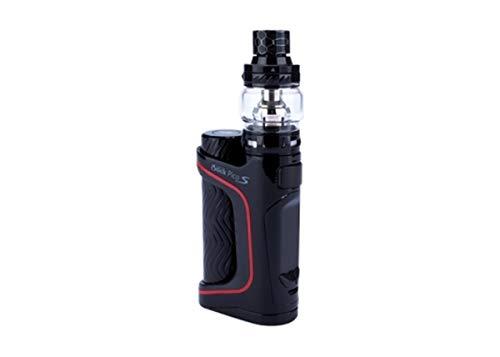 E-Zigarette Eleaf Pico S 100W Kit Schwarz nikotinfrei mit AKKU Ello Vate Verdampfer 2 Kerne 0,15 + 0,2 Ohm Kanthal VW VV Füllmenge 6,5 ml Top Filler