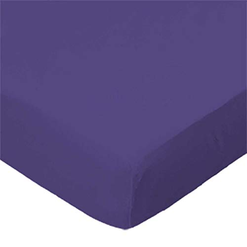 Find Discount SheetWorld Fitted Pack N Play Sheet - Fits Graco Square Playard - Purple Jersey Knit -...