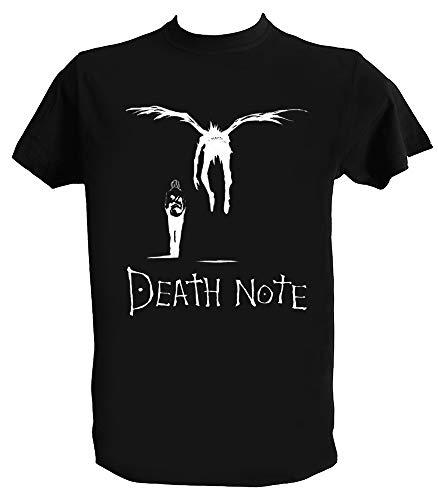 Camiseta Death Note Hombre Niño Ryuk Shinigami Light Yagami Anime Manga, Niños 1-2 Años