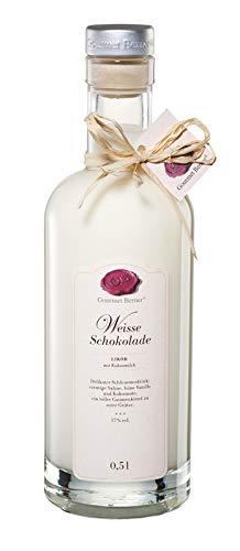 Weiße-Schokolade-Likör 0,5 l/Grundpreis 35,90 € pro Liter