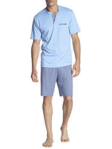 Calida Relax Choice Kurz-Pyjama Herren