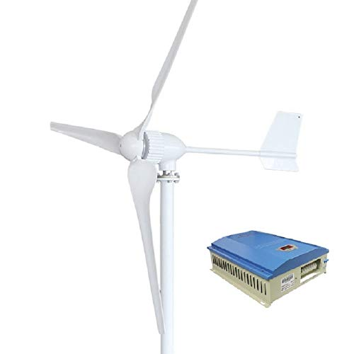 MEIGONGJU Real 1000w Windturbine Generator mit DREI Klingen 1150 mm, optional 48 V 1 kW Windkraftregler oder Hybrid-Controller