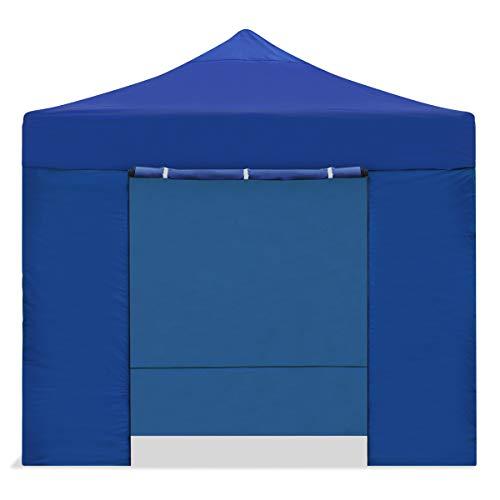KEWAYES Faltzelt / Gazebo 3x3m wasserdicht faltbar einfach Farbe blau