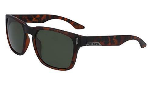 Dragon Dr Monarch XL Ll Mi Gafas de sol, MATTE TORTOISE, 58mm, 20mm, 140mm para Hombre