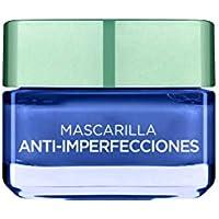 L'Oréal Paris  Arcillas Puras Mascarilla Facial Anti-imperfecciones Azul - 50 ml