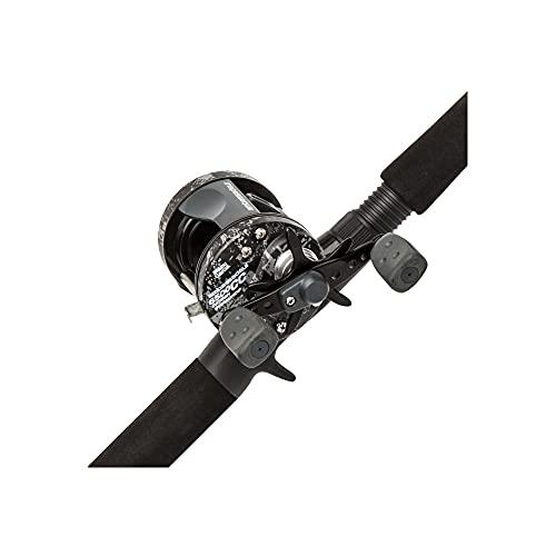 Abu Garcia Catfish Commando Fishing Rod and Reel Combo, 7 Feet, Medium Heavy Power, Black