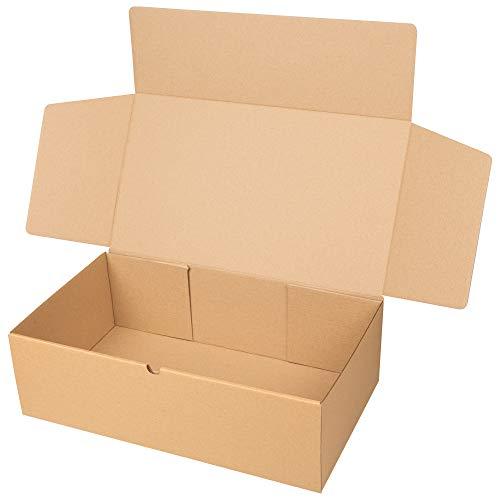 packer PRO Pack 25 Cajas Carton Envios Automontables para Ecommerce y Regalo...
