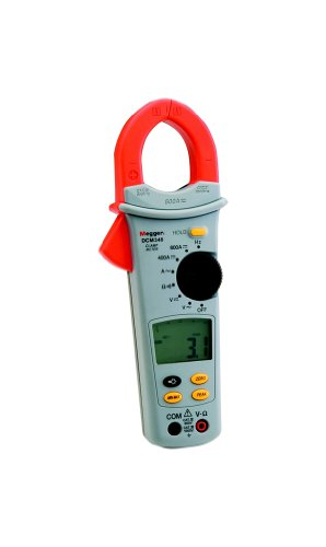 Megger 1000-305 DCM340 Pinza Amperimétrica Rangos De Corriente: 60 A, 400 A, 600 A (CA/CC)