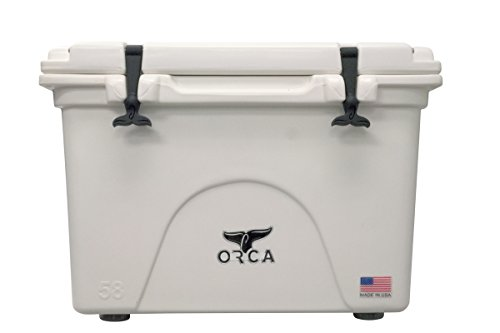 Orca Hard Sided Classic Cooler White 58 Quart