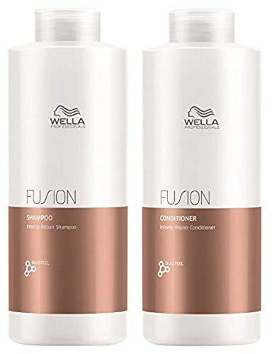 Wella Fusion Shampoo 1000ml + Conditioner 1000ml