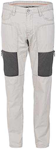 Jeep Pantalon avec Poches en Mailles zippées J5S Homme, gris Dawn Dark gris, 52