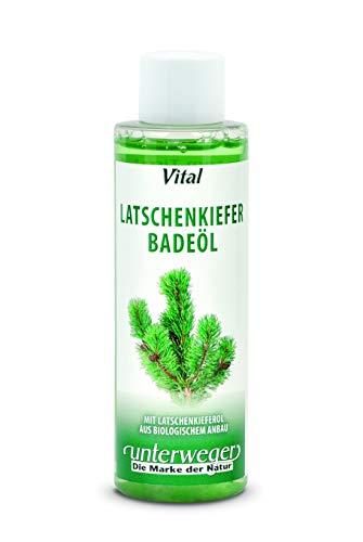 Unterweger Badeöl Classic Latschenkiefer 150 ml mit echtem Tiroler Latschenkieferöl - vitalisierend