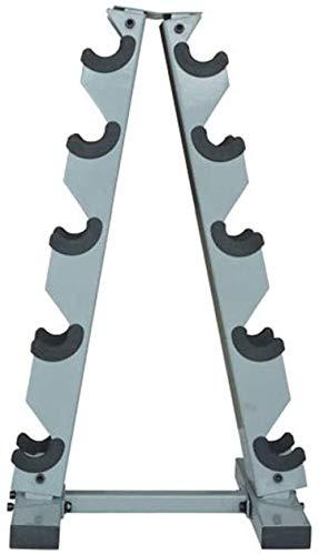 Manchebell Rack Multicapa una Forma de Acero con mancuerna Estante a Domicilio Gimnasio mancuerna Almacenamiento de Peso Soporte Soporte de Pesas para Entrenador Deportivo Soporte de Bastidor de
