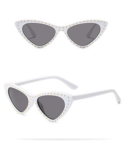 Único Gafas de Sol Sunglasses Calidad Original Gafas De Sol Retro Remache para Mujer Gafas De Sol Vintage para Mujer Mod