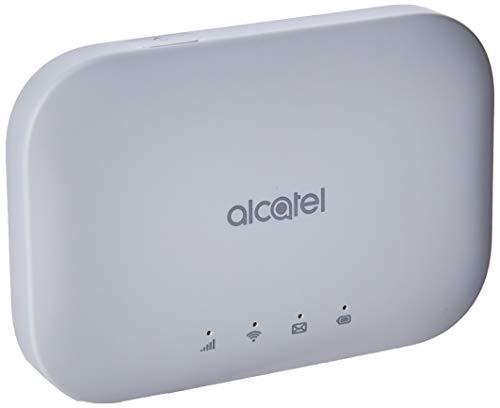 Alcatel Link Zone Modem Mobile 4G, LTE (CAT.7), WiFi, Hotspot fino a 32 Utenti, Batteria 2150mAh, Bianco [Italia]
