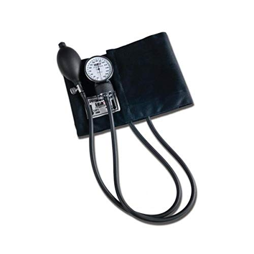 Labtron Patricia Sphygmomanometer - Manual Blood Pressure Monitor with XL Cuff - Black, 180X