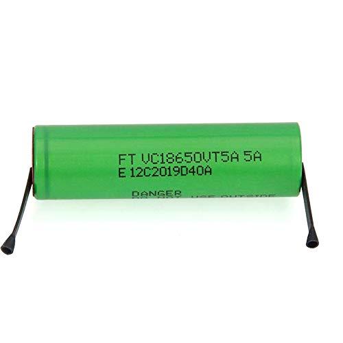 MeGgyc 2600mAh 18650 Batería de Litio 30A Baterías 18650VTC5 de Descarga 2PCSbattery