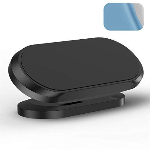 SUCHUANGUANG Magnetischer Autotelefonhalter Armaturenbrett Magnetständer 360-Grad-Lenkhalter Schwarze Zinklegierung Kabelwickler