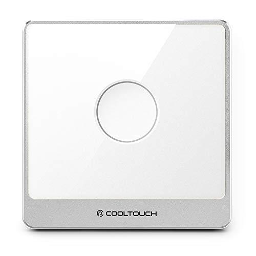 CoolTouch - Smart, interruttore Z-Wave Protocal, stabile, una buona alternativa nel look, interruttore a sfioramento