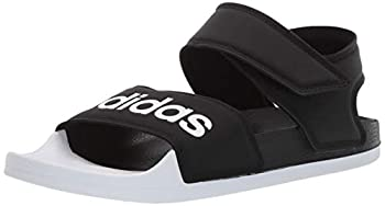 adidas Women s Adilette Sandal Slide Core Black/White/Core Black 6