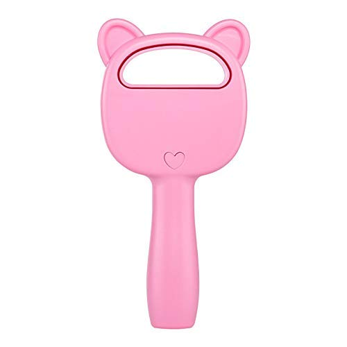 HYY-YY Ventilador portátil de seguridad sin aspas Enfriador de aire de mano sin hoja Ventilador práctico con 3 velocidad de ventilador USB recargable (rosa)