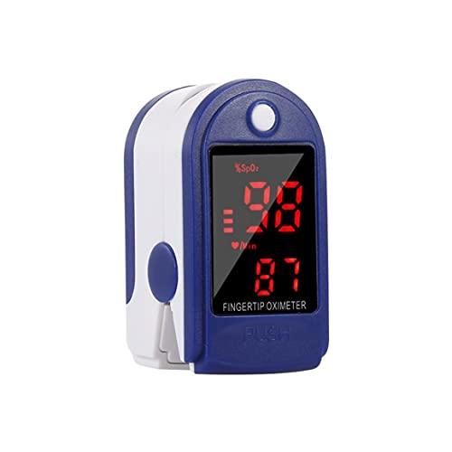 Kongqiabona-UK Pantalla Digital LED Oxímetro con la yema del Dedo Resaltado Oxímetro Oxímetro en Sangre