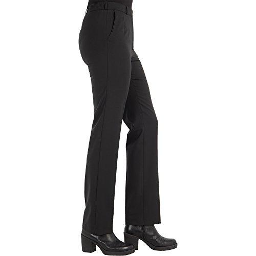 Zerres Damen Hose Anika Straight Fit, Größe:42, Farbe:69 MARINENAVY