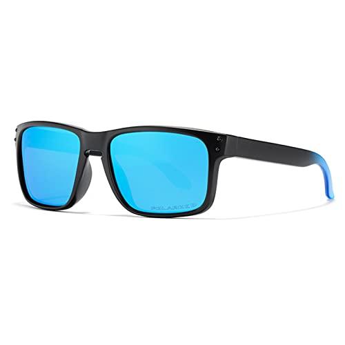 Amethyst Gafas de Sol polarizadas, Marco liviano, protección UV400, es Adecuado para Comprar Gafas Deportivas de conducción de Pesca,Azul