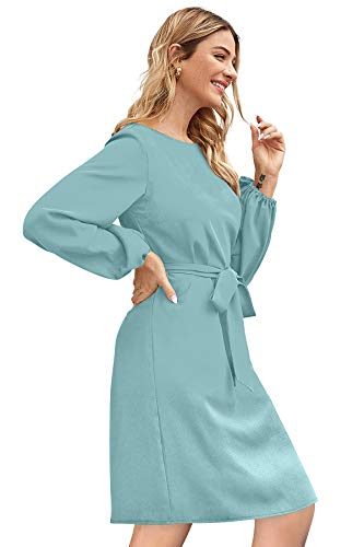 ILLI LONDON Women's A-LINE Knee Length Dress (X-Large, Pista)