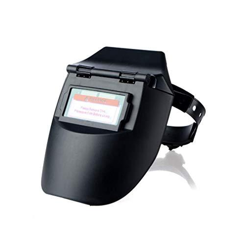 Hycy Auto-Verdunkelung Schweißerhelm Schweißer Maske Cap Objektiv Mit Kappe Zu Solar, Um Automatisch An/Aus-Funktion Zu Schweißen