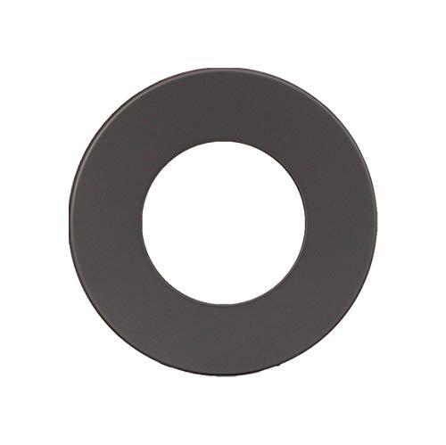 LANZZAS Ofenrohr Wandrosette mit 70 mm Rand, im Durchmesser, DN Ø 150 mm, Farbe: gussgrau - weitere Rohre aus unserem Sortiment, finden Sie hier.