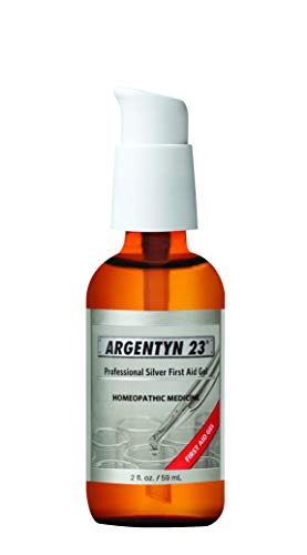 Argentyn 23® Professional Silver First Aid Gel – 2 oz. (59 mL) Bottle – Homeopathic Medicine for Topical Use
