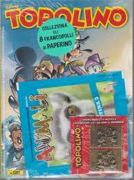 TOPOLINO + FRANCOBOLLI n 3385