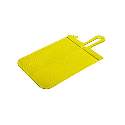 koziol Schneidebrett Snap S, Kunststoff, senfgrün, 33.1 x 16.6 x 0.5 cm