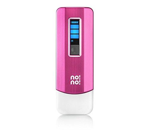 No!No! Dispositivo de depilación Pro para cara y cuerpo (rosa)