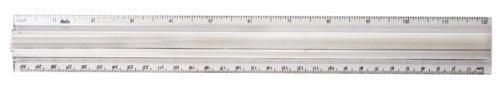 Price comparison product image Helix 2X Magnifier Ruler,  12 Inch / 30cm (61002)