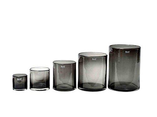 Vase Dutz CYLINDER, smoke (H10 D10)