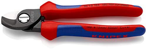 KNIPEX 95 12 165 Cortacables con fundas en dos componentes 165 mm