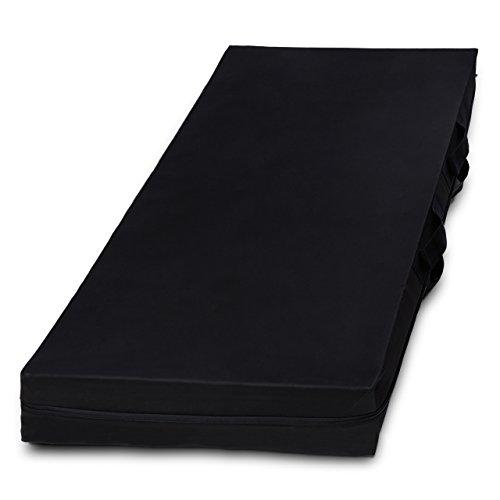 Lumaland Bolsa de Almacenamiento de colchón Ocho tamaños con Cremallera y asa Gris 70 x140 x14cm