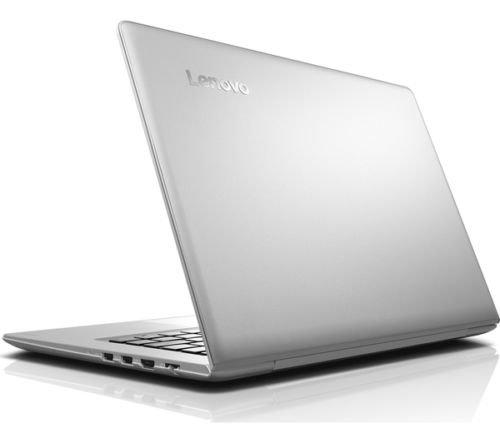 Lenovo IdeaPad 510S (14 inch) Notebook Core i3 (7100U) 2.4GHz 8GB 128GB SSD WLAN BT Webcam Windows 10 Home 64-bit (Intel HD Graphics 620) White