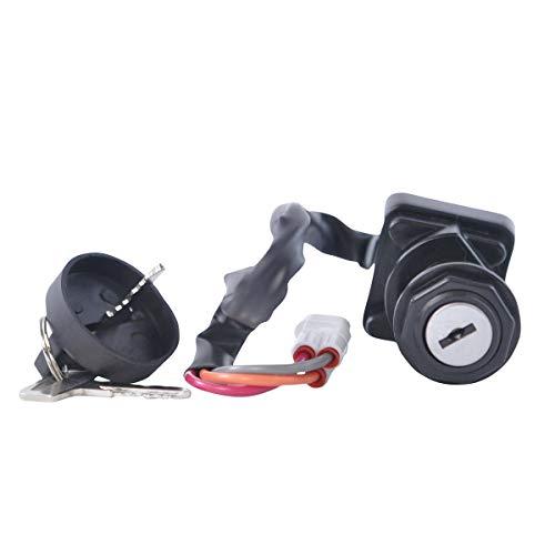 Three Position Ignition Key Switch For Articat DVX 400 Kawasaki KFX 400 Suzuki LTZ 400 2005 2006 2007 2008 OEM Repl.# 27005-S012 3509-009 37110-07G30
